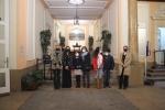 En la entrada delPalacio